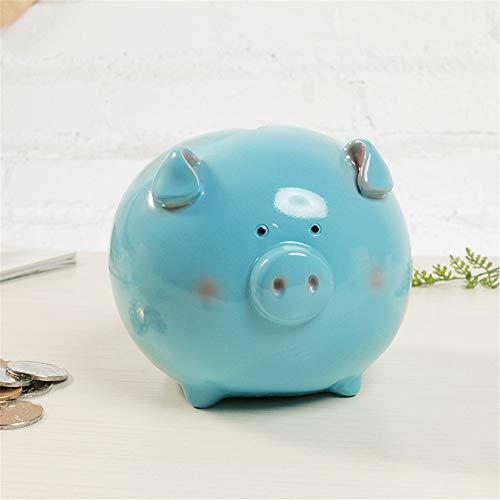 Spardose Geld Bank Münze Lagerung Sparschwein für Geschenke Kunstwerk Home Interior Decor Geschenke für Kinder Kinder zum Geburtstag