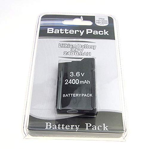 anyilon 3,6V 2400mAh Akku Pack für Sony PSP2000 PSP3000 PSP 2000 PSP 3000 Gamepad Akku für Playstation Portable Controller Portable Akku-packs