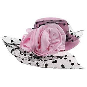 MagiDeal Kinder Mädchen Hüte Fascinators Baby Mini Hut Haarspangen