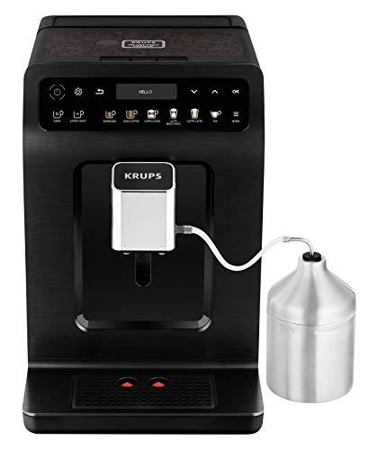 Krups ea8948Evidence Plus–Cafetera automática, 1450, Negro Metálico