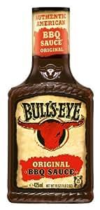 Bull's-Eye BBQ Grillsauce Original, Dosierflasche, 2er Pack (2 x 425 ml)