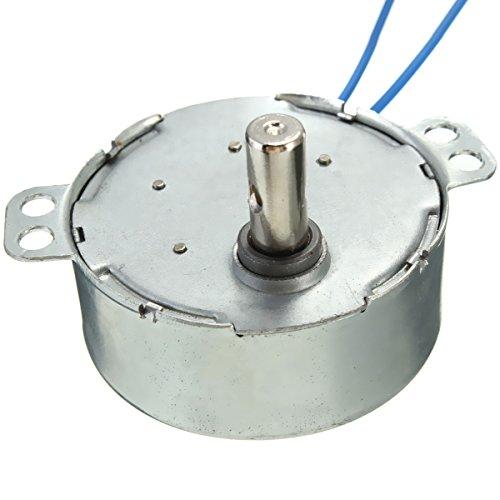ILS - Turntable Synchronous Motor AC 100-127V 5-6RPM 50/60Hz 4W CCW/CW Heater Motor