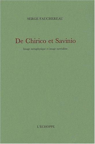 De Chirico et Savinio : Image métaphysique et image surréaliste