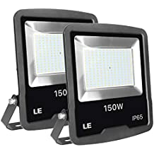 Lighting EVER - Foco LED 150W 12000lm, Resistente al Agua IP65, para Exteriores /