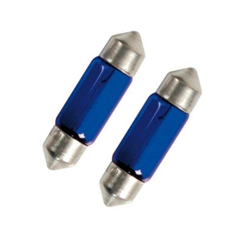 Akhan S36H - Xenon Look Festoon Lumière ampoule C5W 36mm 5 Watt éclairage de plaque d'immatriculation éclairage intérieur