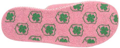 Adelheid  Beste Mama Filzpantoffel, Pantoufles non doublées femme Rose - Pink (rosa  610)