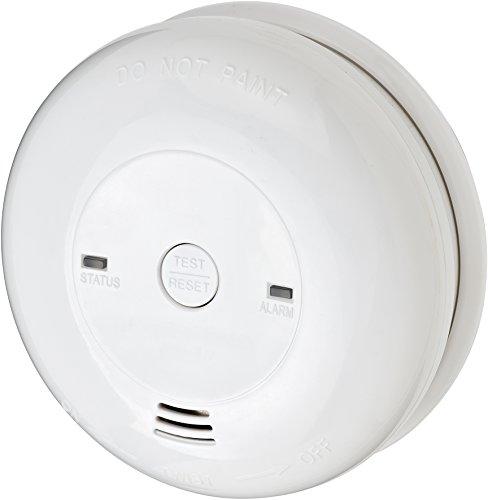 Brennenstuhl CO-/ Kohlenmonoxid-Melder CM L 4050 (Batterielebensdauer 5 Jahre, mit Alarmsignal und LED-Anzeige) weiß -