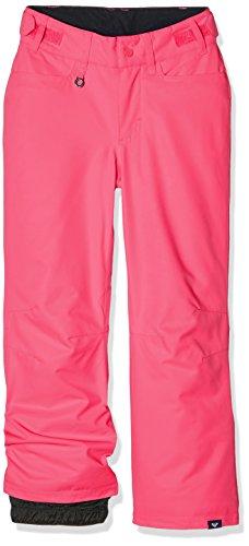 Roxy-Pantaloni da neve da cortile, colore: rosa, taglia: L