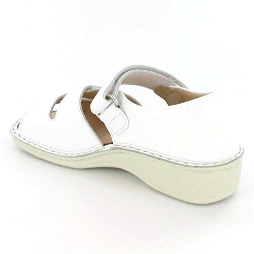 Finn Comfort  Usedom, sandales femmes Blanc - Blanc