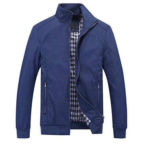 YOUTHUP Mens Jacket Casual Styli...