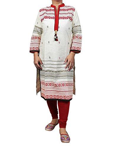 Cotton Salwar Kameez Contemporary Designer's Indian Apparel for Women M