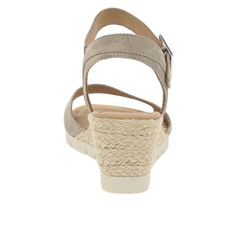 Gabor Comfort Sport, Sandali con Cinturino alla Caviglia Donna Beige (Sand Jute)