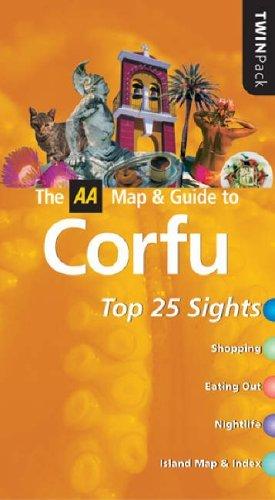AA TwinPack Corfu (AA TwinPack Guides) by Des Hannigan (2005-01-01)