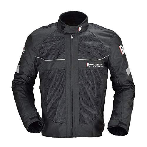 LLC-CLAYMORE Moto Giacca Estiva Racing Gear Protettivo, Pieno Corpo Protettivo Gear Armatura Moto Abbigliamento, con Fodera Calda, per Tutte Le Stagioni,XXL