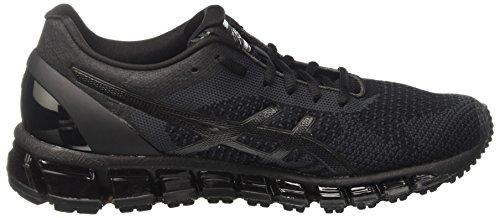Asics Gel-Quantum 360 Knit, Chaussures de Course Pour Entraînement Sur Route Homme Noir (Black/onyx/dark Grey)