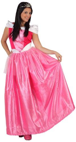 üm –Hofdamenkostüm, Rosa–Größe 3 (Holz Fee Kostüm)