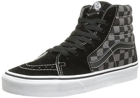 Vans Herren U SK8-HI High-Top Sneaker,Mehrfarbig (Black/Pewter/Checkerboard), 40.5