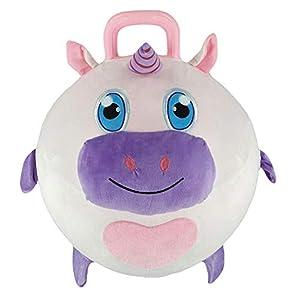 Splash Toys Boing Ball - Balón de Peluche (45 cm de diámetro), Color Rosa