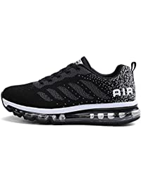 Baskets Homme Femme Chaussures de Course Sport Unisexe Sneakers Gym Fitness  Multicolore Respirante Shoes 460400f5589