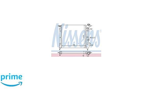 Nissens 63929 radiateur refroidissement du moteur