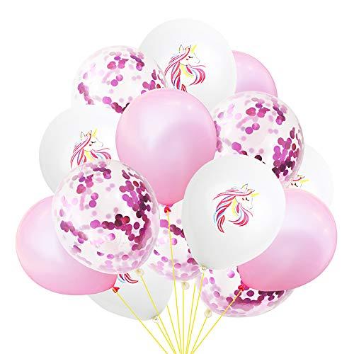 lium Luftballons - Schönes Pferd Konfetti Latex Luftballons Sets für Hochzeit und Happy Birthday Dekorationen, Geburtstag, Baby-Duschen, Valentinstag - 10-12 Zoll (Stil 8) ()