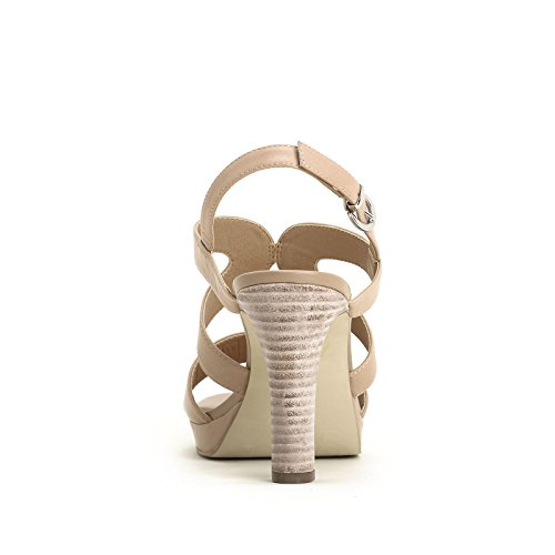 ALESYA by Scarpe&Scarpe - Sandalen mit Absatz und Bändern Beige