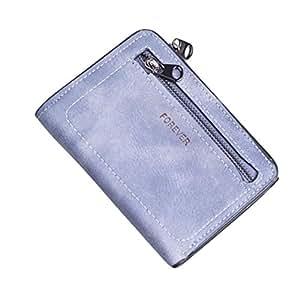 Bluestercool Portafoglio Piccolo Donna Elegante Porta Carte di Credito e Tasche Pelle