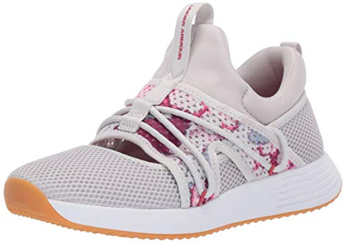 Under Armour Breathe Sola +, Scarpe Running Donna, Grigio Gray Flux/Impulse Pink 100, 40 EU
