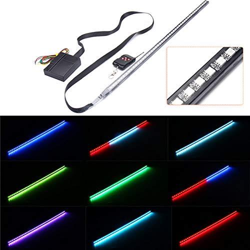 Preisvergleich Produktbild Plat Firm 1RGB 48 5050 LED Lichtleiste Auto unter Haube Scanner Knight Rider Strobe Light mit Fernbedienung
