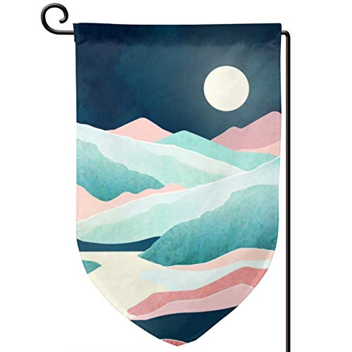Vista Hirsch (Lilyo-ltd Garten-Flagge, Motiv ruhiger Vista, 31,8 x 45,7 cm, doppelseitig, Polyester)