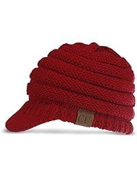 DORRISO Moda Donna Cappello Basco Berretto Molla Inverno Caldo Berretto  Viaggio Vacanza Cappelli Cotone baa7f159f970