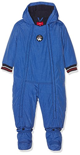s.Oliver Baby-Jungen 59709852765 Schneeanzug, Blau (Blue Melange 55W6), 80