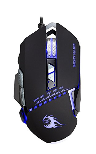 3. Night Hawk FPS Gaming Mouse