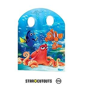 Star Cutouts SC874Panel/photocall con Aberturas para el Rostro, diseño Infantil de Buscando a Dory, tamaño Infantil, cartón