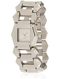 Custo Watches Reloj analogico para Mujer de Cuarzo con Correa en Acero  Inoxidable CU029201 01f8dadd39f1