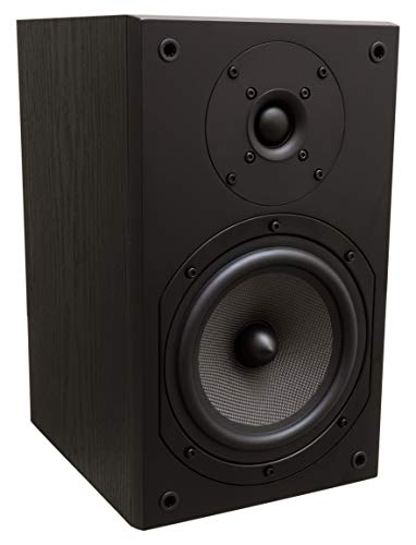 KODA EX-569T Regal Lautsprecher Bookshelf Loudspeaker (Black/Schwarz)