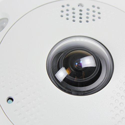 HIKVISION DS-2CD6362F-IVS 6mp Fisch-Augen-Netzwerk-Kamera Innen- (wasserdicht Bewegung detection15m ir poe)