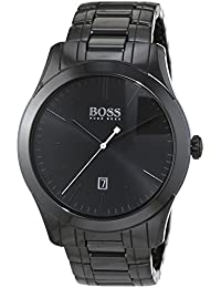 Hugo Boss Herren-Armbanduhr Analog Quarz Keramik 1513223