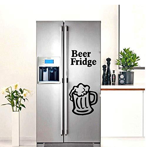 Bier Kühlschrank Aufkleber Wasserdicht Vinyl Tapete Wohnkultur Für Küche Wohnkultur Vinyl Kunst Aufkleber 30 cm X 53 cm