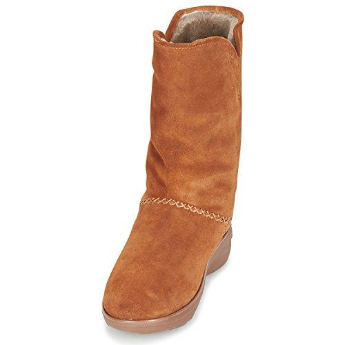 FitFlop Supercush Mukluk Boots, Bottes pour Femme Châtain