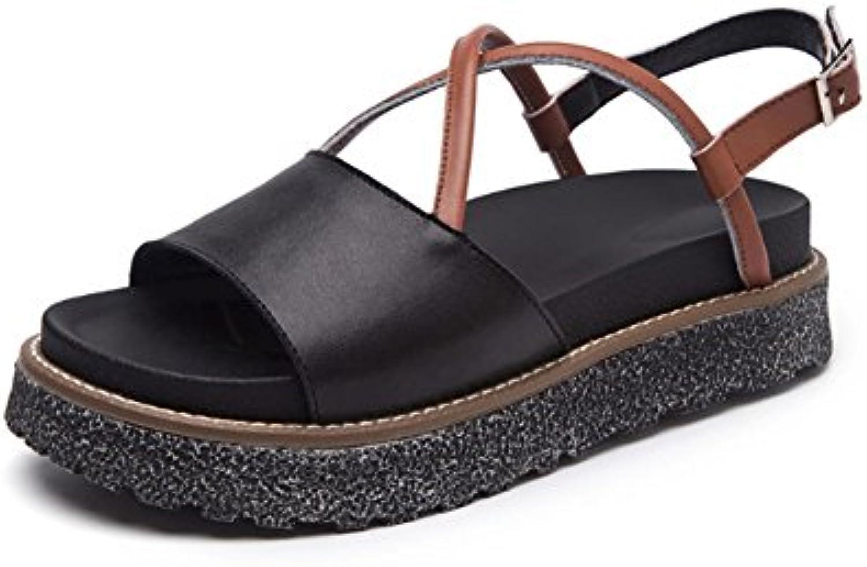 Chaussures À Zlids Summer Mme Épaisses Semelles Plateforme q1fT0wna