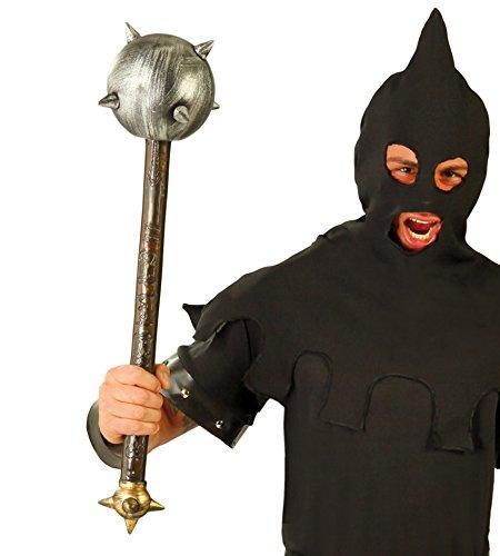 Mittelalterliche Henker Kostüm - Fiestas Guirca Mittelalterliche Streitkolben 70 cm Kunststoff Hammer Nägel Hangman