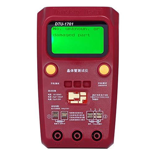 Digitaler Transistor Tester SMD Elektronische Komponenten Meter Diode Triode Kapazität Induktivität Multimeter ESR Meter Digital-multimeter Plug-in