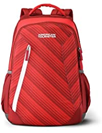 American Tourister Rave 29 Ltrs Red Casual Backpack (Fi3 (0) 00 001)