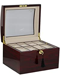 Superior Quality Rosewood Watch Collector Box for 16 Watches by Aevitas