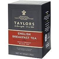 Taylors of Harrogate, Black Tea, English Breakfast Tea, 20 Count Wrapped Tea Bag by Taylors of Harrogate