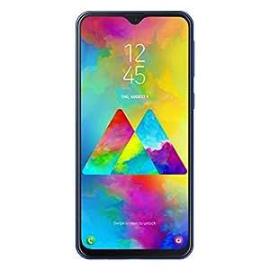 """Samsung Galaxy M20 Smartphone, Blu (Ocean Blue), Display 6.3"""", 64 GB Espandibili, Dual SIM [Versione Italiana]"""