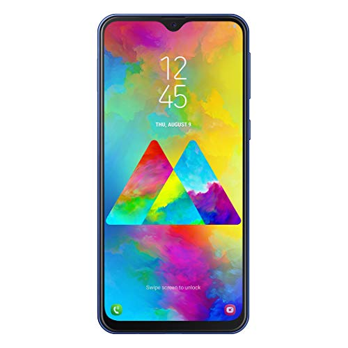 "Samsung Galaxy M20 Smartphone, Blu (Blue), Display 6.3"", 64 GB Espandibili, Dual SIM [Versione Italiana] - Esclusiva Amazon"