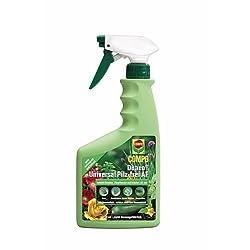 COMPO Duaxo Universal Pilz-frei AF, Bekämpfung von Pilzkrankheiten an Zierpflanzen, Gemüse und Kräutern, Anwendungsfertig, 750 ml