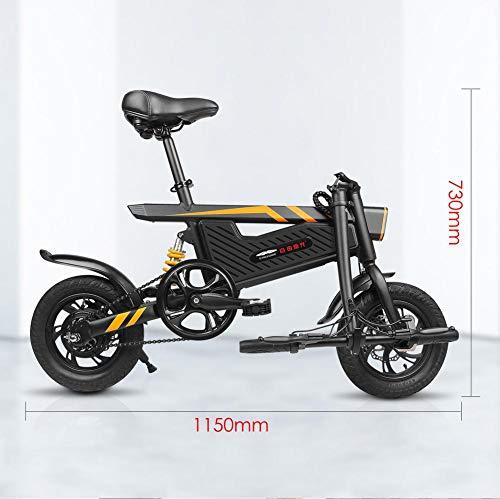 Ziyoujiguagn Elektro-Fahrrad,Reiten Elektro-Power Unterstützt Faltrad 250W Silent Motor,Elektrofahrrad Faltbares Mountainbike,E-Bike Mutter/Frau/Ju